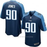 Camiseta Tennessee Titans Jones Azul Oscuro Nike Game NFL Nino