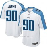 Camiseta Tennessee Titans Jones Blanco Nike Game NFL Hombre