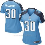 Camiseta Tennessee Titans McCourty Azul Nike Game NFL Mujer