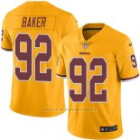 Camiseta Washington Redskins Baker Amarillo Nike Legend NFL Hombre