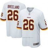 Camiseta Washington Redskins Breeland Blanco Nike Game NFL Hombre
