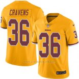 Camiseta Washington Redskins Cravens Amarillo Nike Legend NFL Hombre