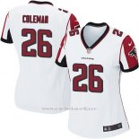 Camiseta Atlanta Falcons Coleman Blanco Nike Game NFL Mujer