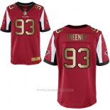 Camiseta Atlanta Falcons Freeney Rojo Nike Gold Elite NFL Hombre