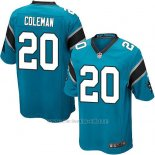 Camiseta Carolina Panthers Coleman Lago Azul Nike Game NFL Hombre