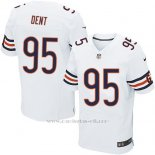 Camiseta Chicago Bears Dent Blanco Nike Elite NFL Hombre