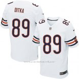 Camiseta Chicago Bears Ditka Blanco Nike Elite NFL Hombre