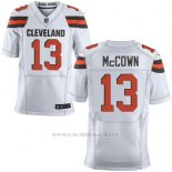Camiseta Cleveland Browns Mccown Blanco Nike Elite NFL Hombre