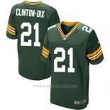 Camiseta Green Bay Packers Clinton-Dix Verde Nike Elite NFL Hombre