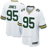 Camiseta Green Bay Packers Jones Blanco Nike Game NFL Nino