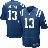 Camiseta Indianapolis Colts Hilton Azul Nike Game NFL Hombre