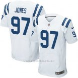 Camiseta Indianapolis Colts Jones Blanco Nike Elite NFL Hombre