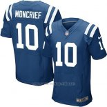 Camiseta Indianapolis Colts Moncrief Azul Nike Elite NFL Hombre