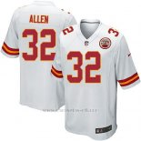 Camiseta Kansas City Chiefs Allen Blanco Nike Game NFL Nino