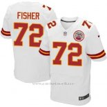 Camiseta Kansas City Chiefs Fisher Blanco Nike Elite NFL Hombre