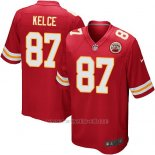 Camiseta Kansas City Chiefs Kelce Rojo Nike Game NFL Nino