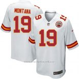 Camiseta Kansas City Chiefs Montana Blanco Nike Game NFL Nino