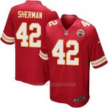 Camiseta Kansas City Chiefs Sherman Rojo Nike Game NFL Nino