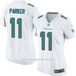 Camiseta Miami Dolphins Parker Blanco Nike Game NFL Mujer