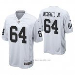 Camiseta NFL Game Hombre Oakland Raiders Richie Incognito Jr. Blanco