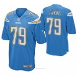 Camiseta NFL Game Hombre San Diego Chargers Trey Pipkins Azul