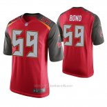 Camiseta NFL Game Hombre Tampa Bay Buccaneers Devante Bond Rojo