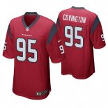 Camiseta NFL Game Hombre Texans Christian Covington Rojo