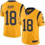 Camiseta NFL Game Los Angeles Rams 18 Cooper Kupp Oro