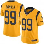 Camiseta NFL Game Los Angeles Rams 99 Aaron Donald Oro