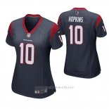 Camiseta NFL Game Mujer Houston Texans Deandre Hopkins Azul