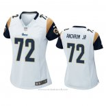 Camiseta NFL Game Mujer Los Angeles Rams Tremayne Anchrum Jr. Blanco