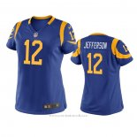 Camiseta NFL Game Mujer Los Angeles Rams Van Jefferson Azul