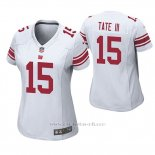 Camiseta NFL Game Mujer New York Giants Golden Tate Blanco