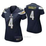 Camiseta NFL Game Mujer San Diego Chargers Michael Badgley Navy