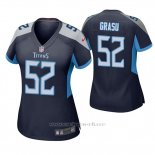 Camiseta NFL Game Mujer Tennessee Titans Hronis Grasu Azul