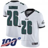 Camiseta NFL Game Philadelphia Eagles 26 Miles Sanders Blanco
