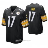 Camiseta NFL Game Pittsburgh Steelers Deon Cain Negro
