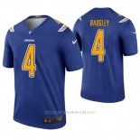Camiseta NFL Legend Hombre San Diego Chargers Michael Badgley Azul Color Rush