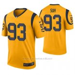 Camiseta NFL Legend Hombre St Louis Rams Ndamukong Suh Oro Color Rush