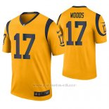 Camiseta NFL Legend Hombre St Louis Rams Robert Woods Oro Color Rush
