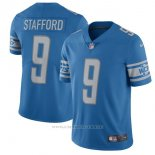 Camiseta NFL Limited Hombre 9 Stafford Detroit Lions Azul