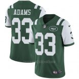 Camiseta NFL Limited Hombre New York Jets 33 Jamal Adams Verde Stitched Vapor Untouchable