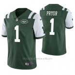 Camiseta NFL Limited Hombre New York Jets Terrelle Pryor Verde Vapor Untouchable