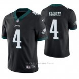 Camiseta NFL Limited Hombre Philadelphia Eagles Jake Elliott Negro Vapor Untouchable