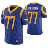 Camiseta NFL Limited Hombre St Louis Rams Andrew Whitworth Azul Vapor Untouchable