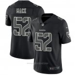 Camiseta NFL Limited Las Vegas Raiders Mack Black Impact