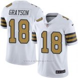 Camiseta New Orleans Saints Grayson Blanco Nike Legend NFL Hombre