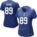 Camiseta New York Giants Bavaro Azul Nike Game NFL Mujer