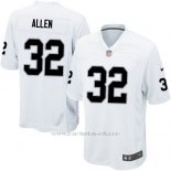 Camiseta Oakland Raiders Allen Blanco Nike Game NFL Hombre