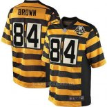 Camiseta Pittsburgh Steelers Brown Amarillo Nike Game NFL Nino